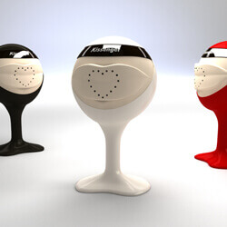 Kiss transfer devices make it possible to smooch your lover remotely.