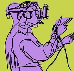 Virtual Reality Headset Abstract