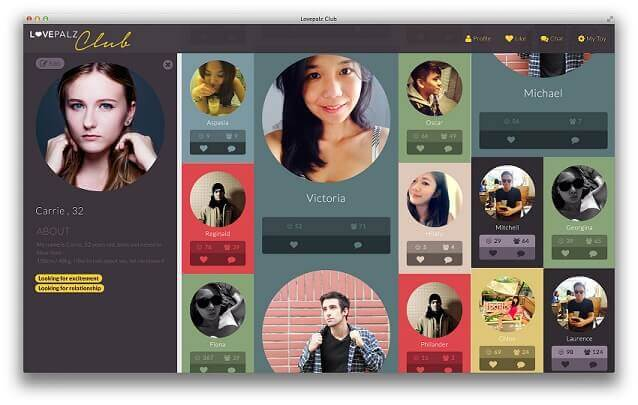 LovePalz Club Profiles