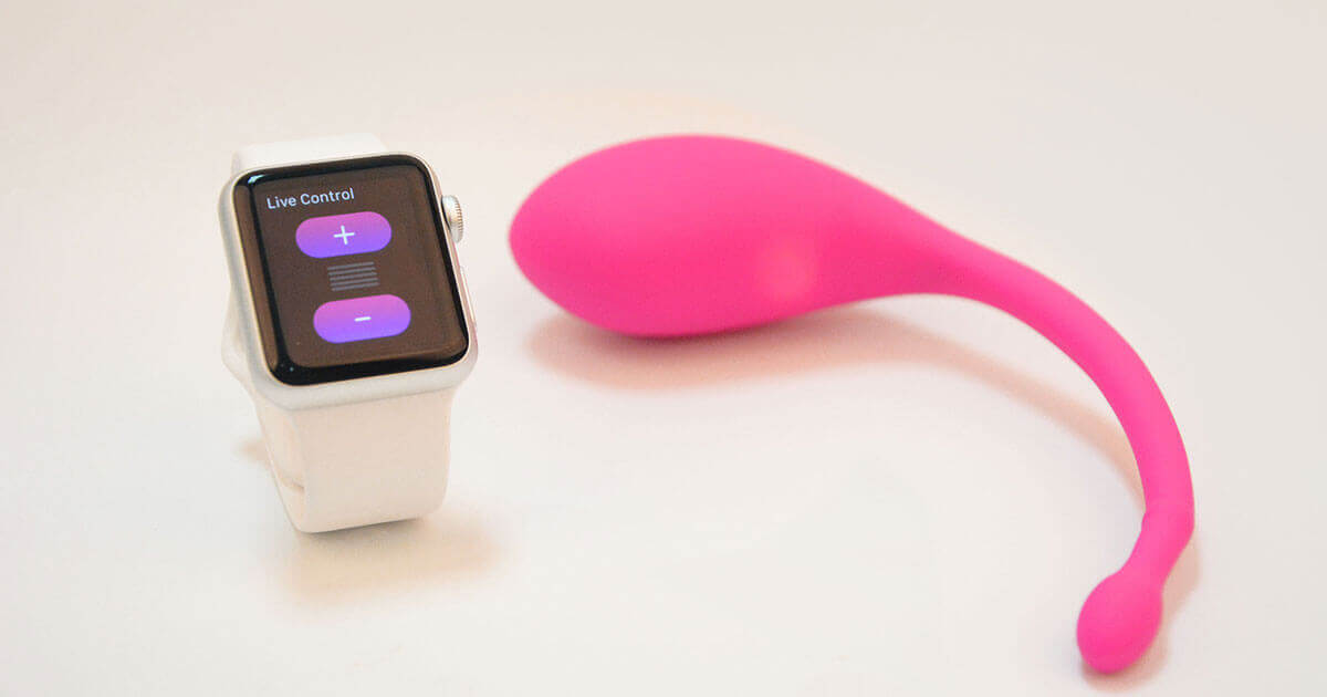 A new vibrator by Lovense can by controlled by a smart watch.