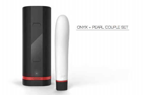 Kiiroo's Pearl an Onyx remote sex toys.