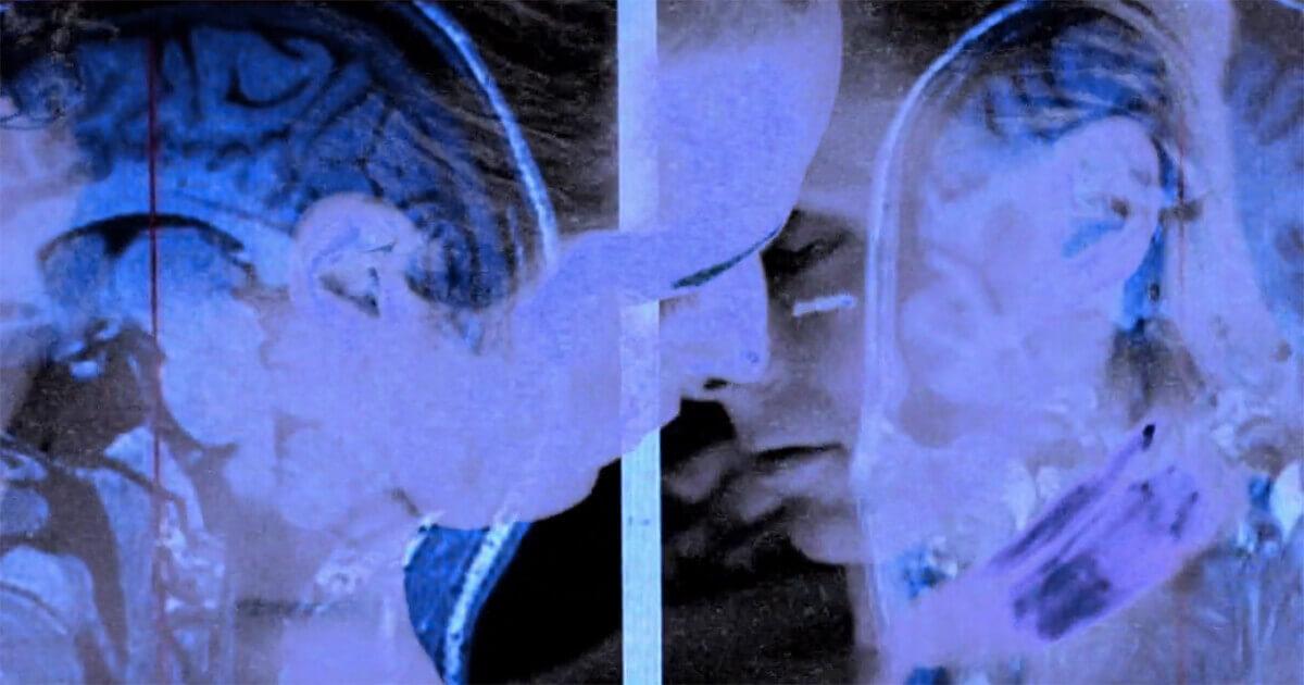 Two people having neurosex.