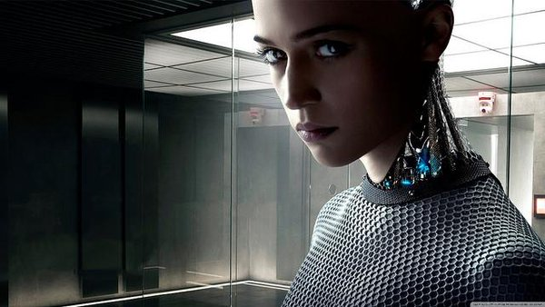 Eva from the movie Ex Machina.