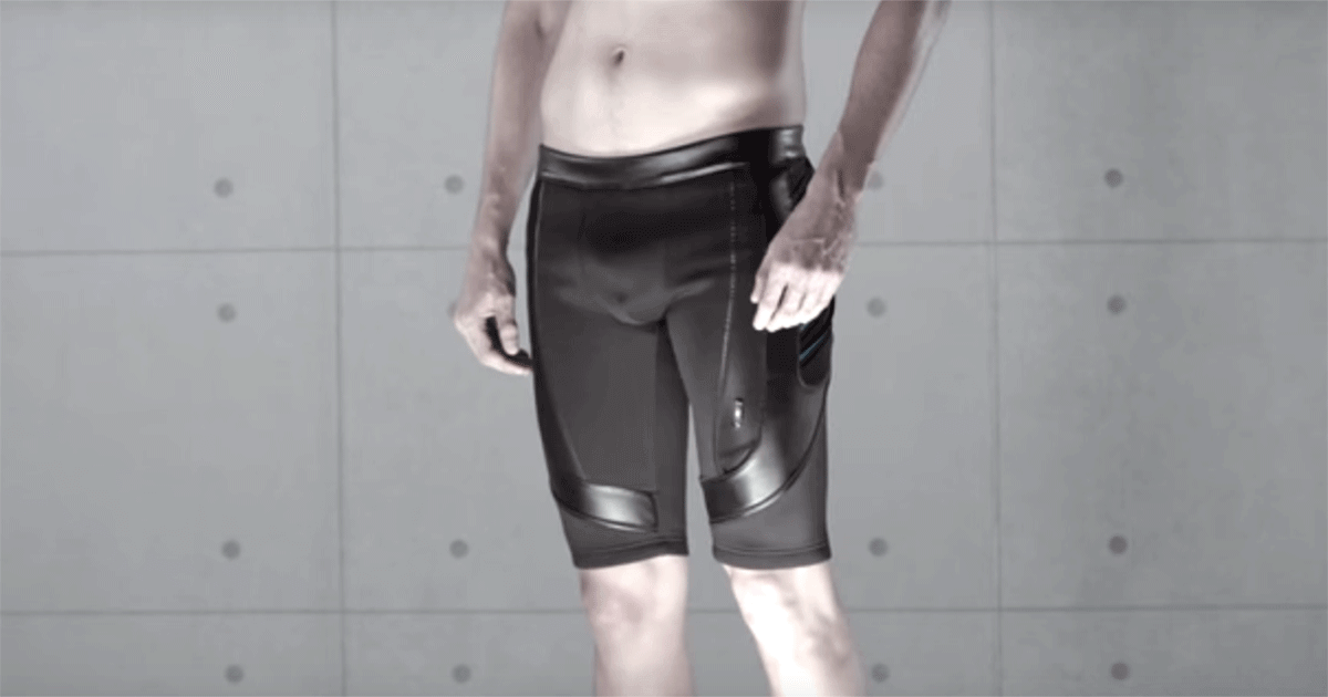 "VylyV's smart ""sex shorts"" help men strengthen their pelvic floor muscles."