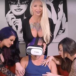BBW lesbian wife licking pussy