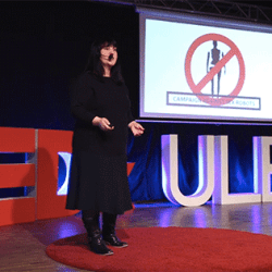 Kathleen Richardson speak about the ethics of sex robots at a TedX Talk.