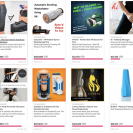 New After Dark section features Indiegogo's sex tech products,