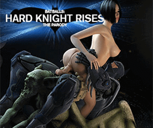 Rescue and fuck hot babes in Batballs: Hard Knight Rises.