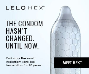 Safe sex just got sexier with Lelo Hex condoms.