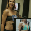Augmented reality app Illusio lets you see how breast implants look on your body before surgery.