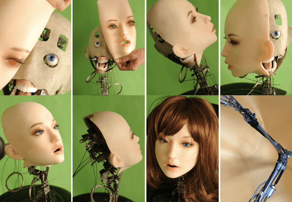 DS Doll is building a robotic head to attach to its silicone love dolls.