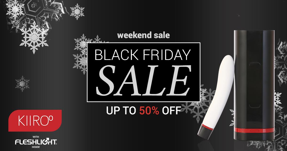 Kiiroo's Black Friday sale gives up to 50% off in savings.