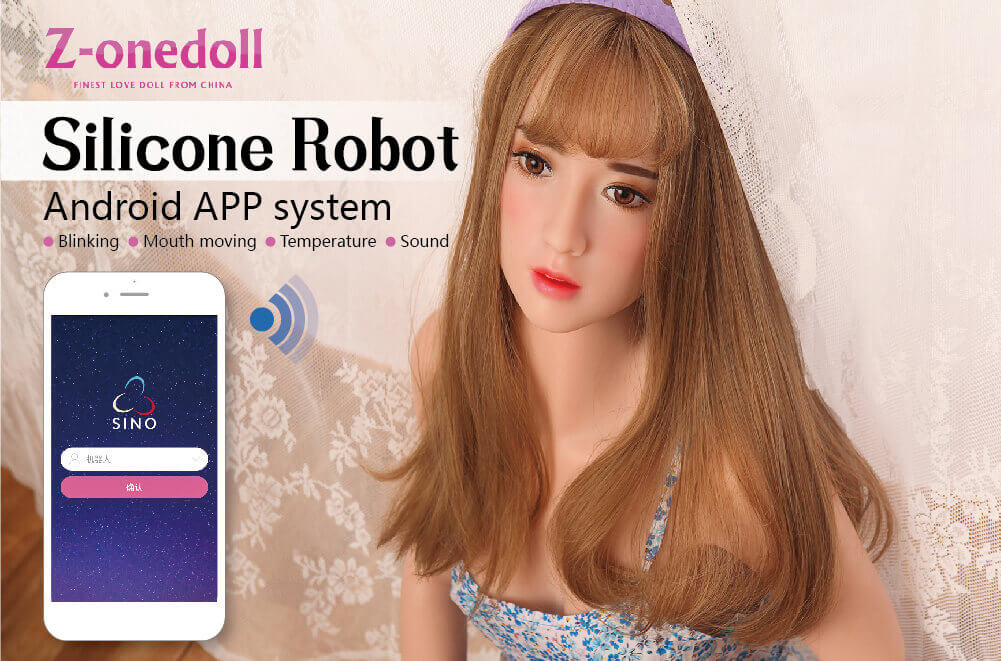 Z-onedoll now sells the Silicone Robot love doll.