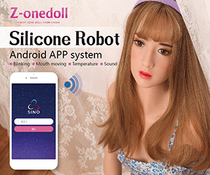 The Silicone Robot by Z-onedoll speaks Chinese and can move its mouth and blink.