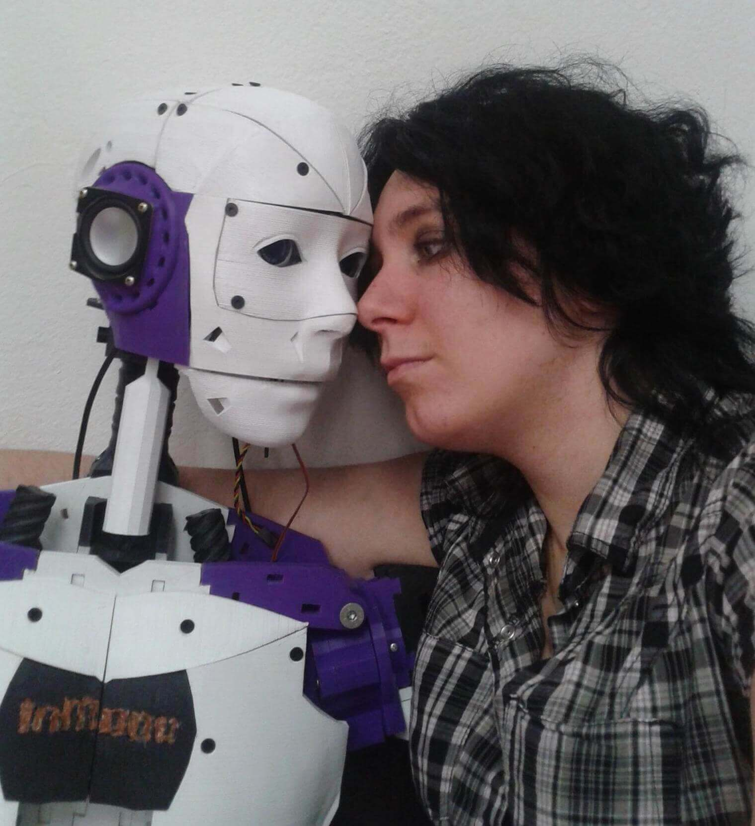 InMoovator and Lilly are a robot-human couple seeking right to marry.