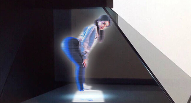 Cam site CamSoda is launching 3D live holograms of performers.