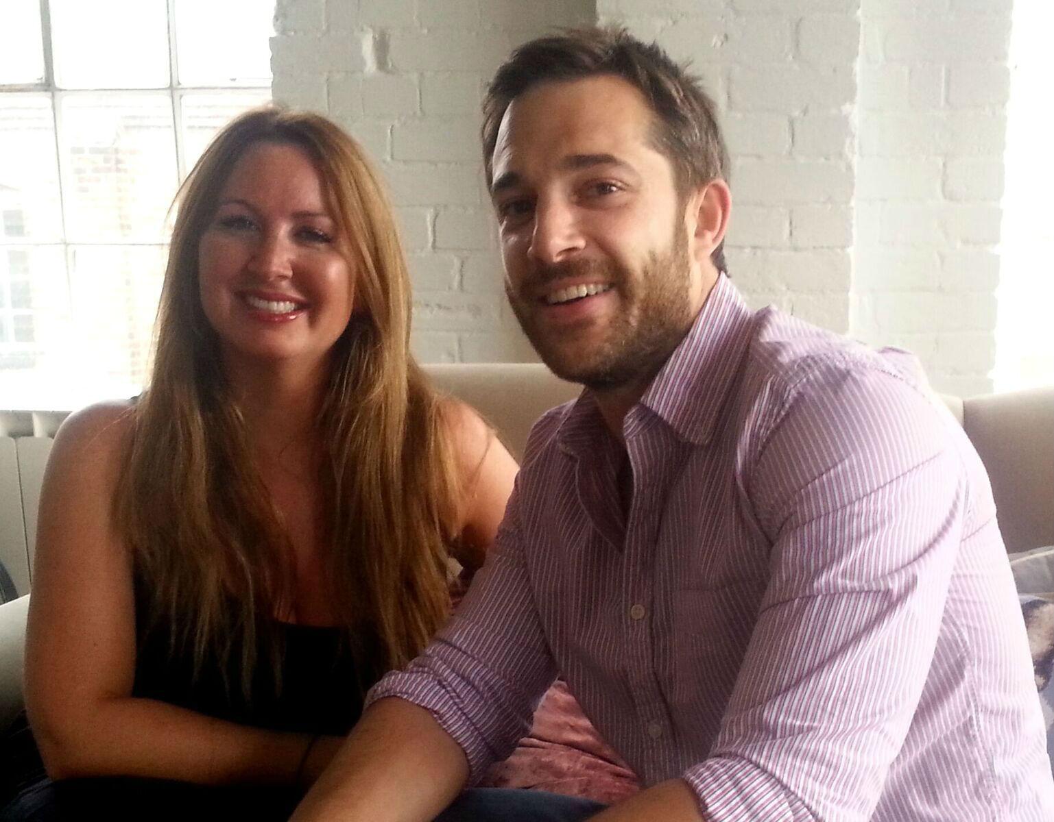 Julia Margo and Adam Lewis