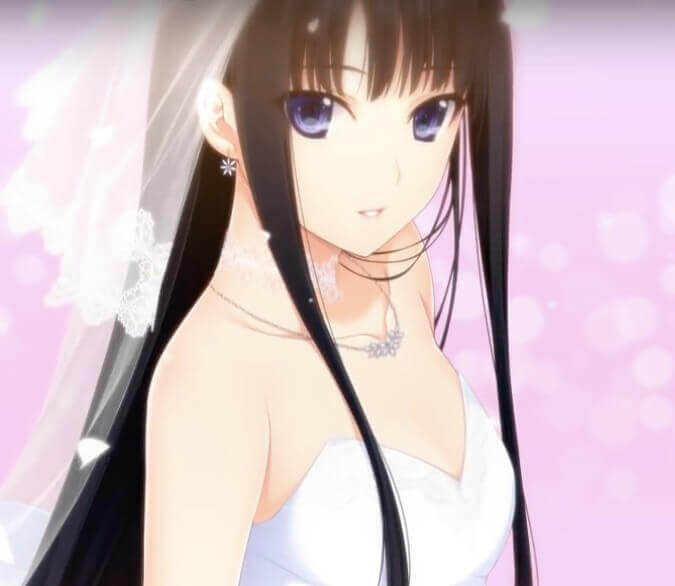 A beautiful animal girl wearing bridal clothing.