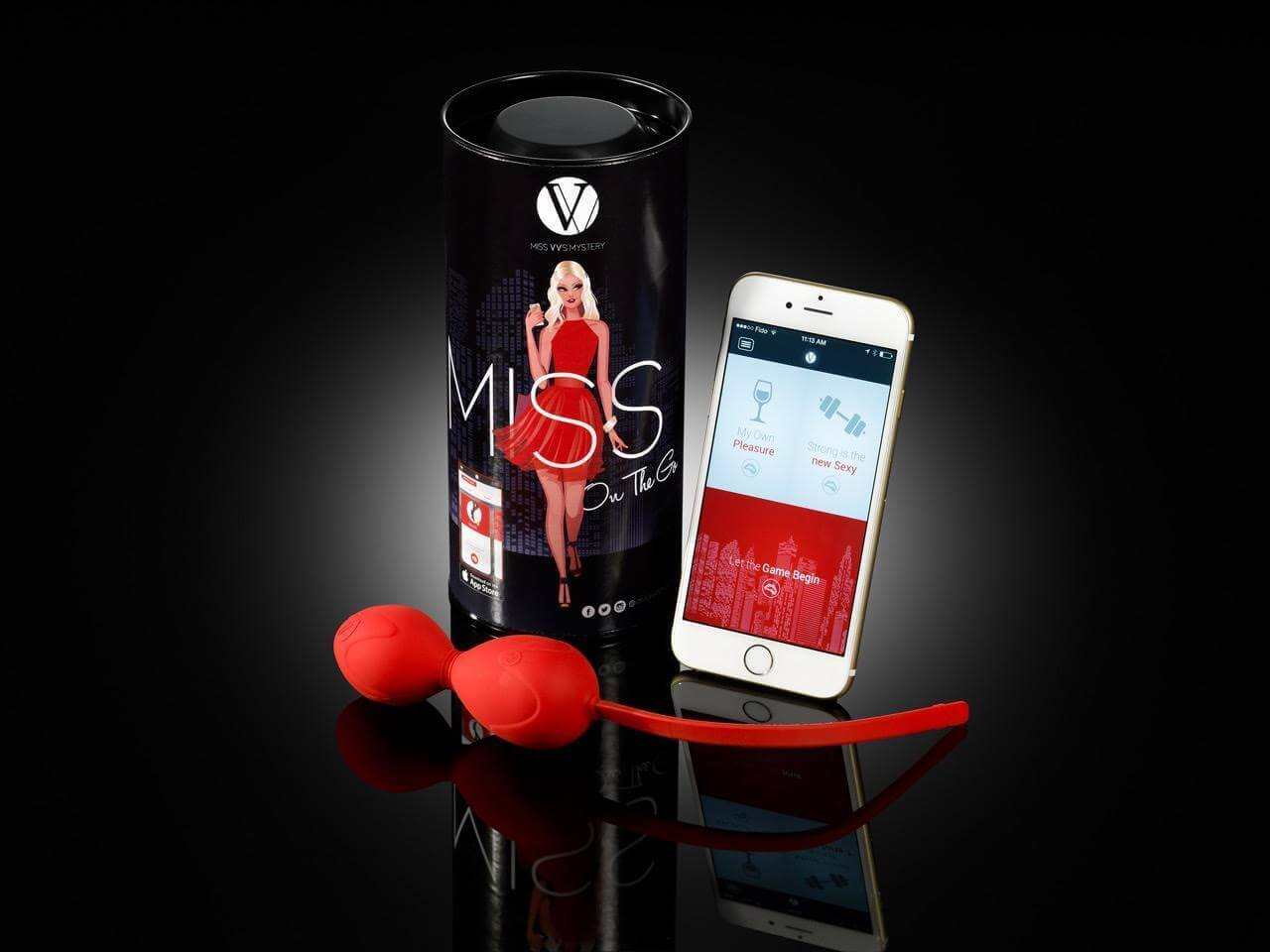 Miss On The Go Vibrating Device and App