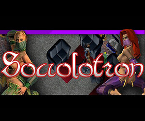 Sociolotron is a racy sex game.