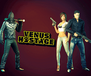 Venus Hostage is an adult sex game.
