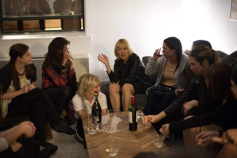 A group of women in sex tech meet regularly in NYC as part of the Women of Sex Tech group.