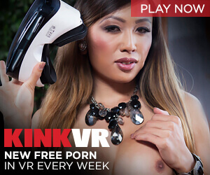 Fetish site KinkVR offers new free virtual reality porn videos each week.
