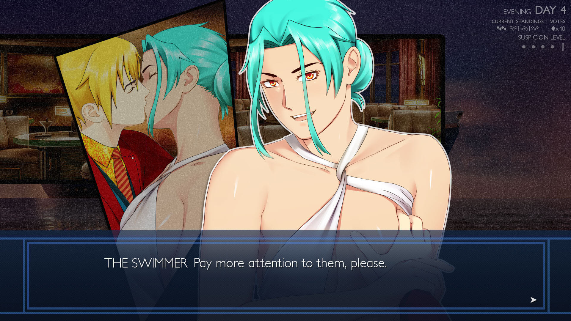 Ladykiller in a Bind is a gay sex game that lets players indulge kinks and genderplay.