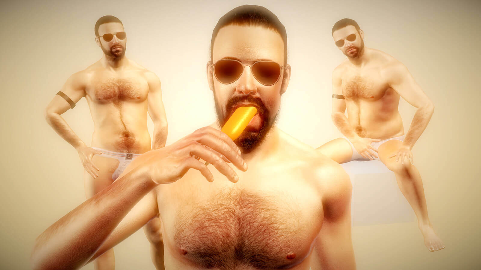 Gay sex game Radiator 2 lets players explore BDSM and other kinks in a adult virtual world.
