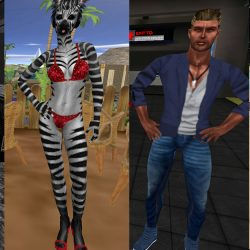Some of examples of the higher quality graphics VIP members can look forward to.