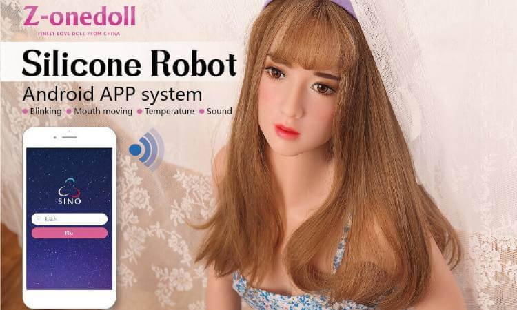Silicone Robot Zone Doll
