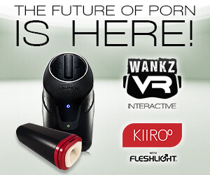 Wankz VR porn combines virtual reality and teleldildonics so you can feel and be part of the action.