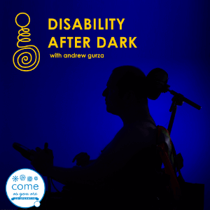 Disability After Dark podcast logo