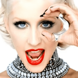 "A screenshot of singer Christian Aguilera from her music video ""Not Myself Tonight."""