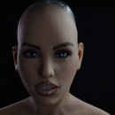 Harmony the Realbotix sex robot announces the X-mode system.