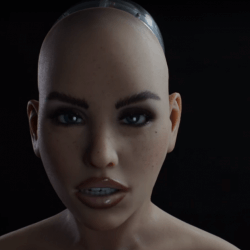 Harmony the Realbotix sex robot announces the X-mode system.