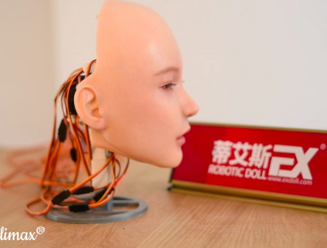 DS Doll Robotic Doll Face via Cloud Climax