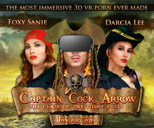 Experience some of the best VR porn at VRConk, including the XXX immersive film Captain Cock Arrow.