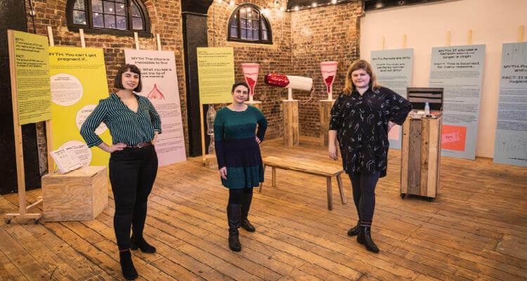 The Vagina Museum team