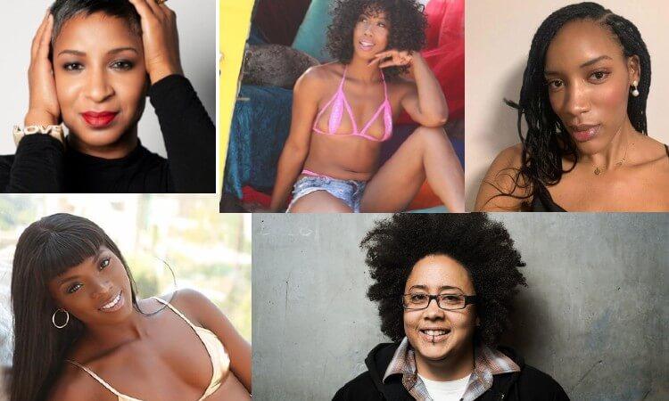 Lidia Bonilla, Misty Stone, SX Noir, Shine Louise Houston, and Ana Foxxx