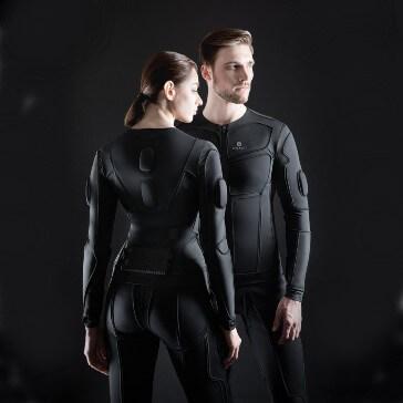 Teslasuit haptic capabilities
