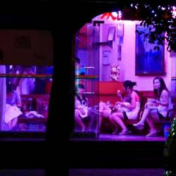 Sex Workers waiting for business in pandemic