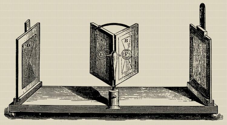 Charles Wheatstone's mirror stereoscope
