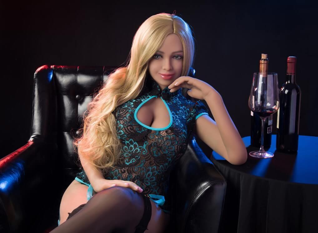 Emma Robot Head #3 sex doll option from AI-AI Tech