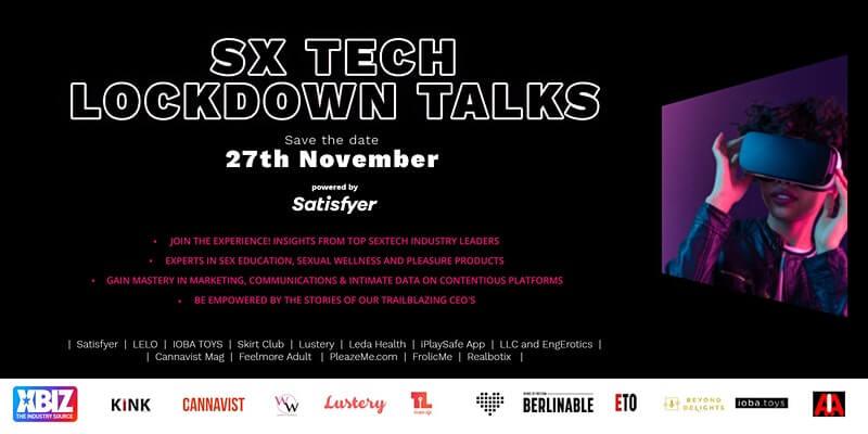 Sx Tech Lockdown talks promotional banner for Novembr 27, 2020