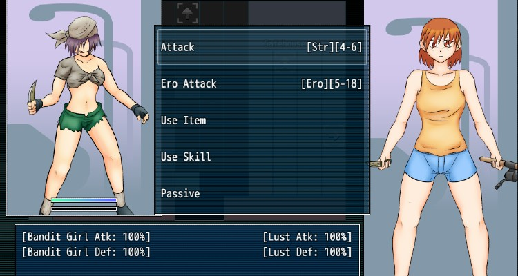 Love Doll Plus lets you play sexy role-playing games with hot characters like Bandit Girl.