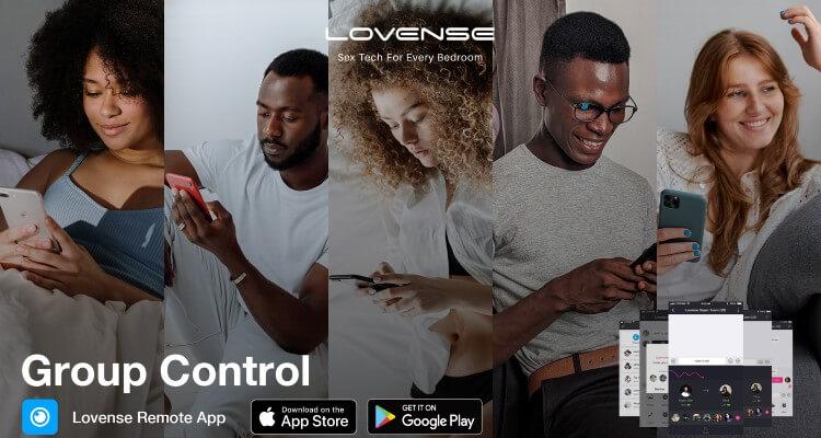 Orgía de la aplicación Lovnse.  Lovense anuncia la función de