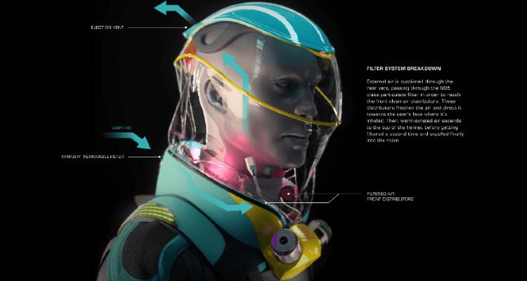 Fashion-forward cyberpunk