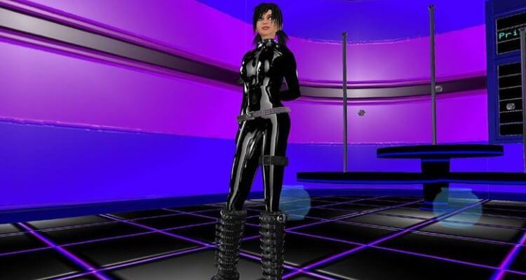 Screenshot of a robotic suit