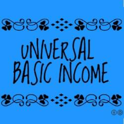 Screenshot of Universal Basic Income Banner